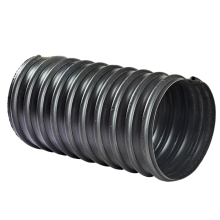 hot sale double wall corrugated hdpe polyethylene drainage  plastic  pipe