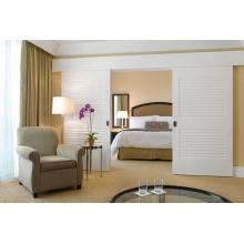 China Supplier Concise Fresh Bedroom Wardrobe Sliding Door
