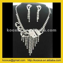 Комплект свадебного ожерелья