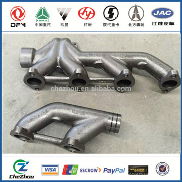 DCEC Exhaust pipes 3937477 / 3943841 for DFL T375,T300,EQ4251 Truck Exhaust Manifold