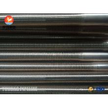 Copper Nickel 90/10 SB111 C70600-061 Low Fin Tube