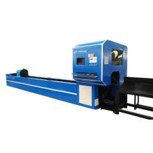 Metal tube pipe fiber laser cutting machine