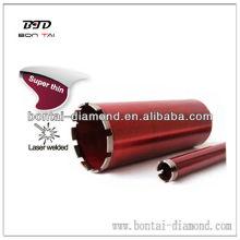 Laser Welded Diamond Core Bits