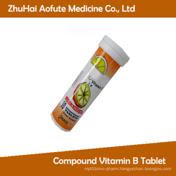 Vitamin C Effervescent Tablets with GMP Certification