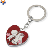 Metal fashion keychain for promotional gift