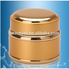 Gold and Silver Aluminum Glass Jar cosmetic cream jars 5g 15g 30g 50g