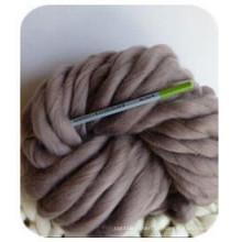 Chunky Knit Merino Wolle Garn zum Handstricken