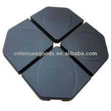 High quality Granite Concrete hanging umbrella base piece