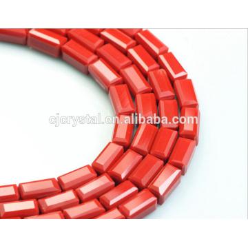 Porzellan Großhandel billig 5A Qualität Würfel Kristall Glasperlen