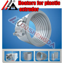 Band heater for plastic machines