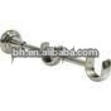beautiful and opic medal double curtain rod brackets/ holders for curtain rod 25mm in windows & home decor