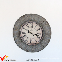 Round Home Decoration Wall Clock French Rustic
