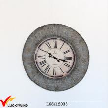 Rodada Home Decoração Relógio De Parede Francesa Rústica