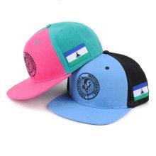 Kühle einfache kundenspezifische Stickerei fertigen Hysteresen-Hüte flache Bill-Hip Hop-Kappen-einfache Hysteresen-Hüte besonders an