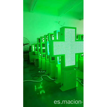 Pantalla LED de doble cara de farmacia P8