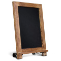 Creations Rustic Memo Board Antique Wooden Frame Torched Tabletop Chalkboard (9.5 x 14 inch)