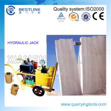 Bestlink Hydraulic Push Machine for Marble Block
