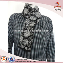 Jacquard Silk and Viscose Scarf Wholesale