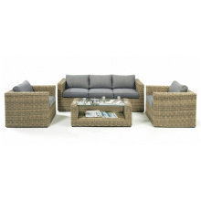 Rattan Möbel Garten Patio Wicker Lounge Sofa-Set