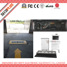 Fixed Vehicle Undercarriage Scanning Inspecting Surveillance System for Vehicle Security