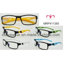 Nueva moda de plástico de los hombres Eyewear marco óptico (wrp411385)