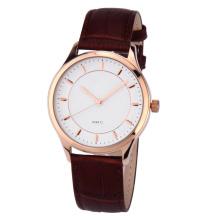 relógio popular o mais atrasado do homem de quartzo, homens do relógio de Vogue do movimento de Japão