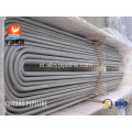 Stainless Steel U Bend tabung TP317L ASME SA213M-2013a