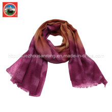 100% Yak laine laine foulard / vêtement en cachemire / laine tricots camel