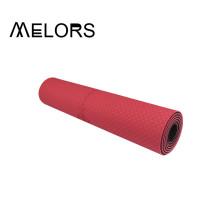 Tapete de ioga de camada dupla Melors TPE