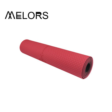 Melors Double Layer TPE Yogamatte