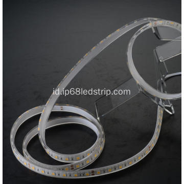 All In One SMD5050 60leds 2700K Transparan cahaya strip yang dipancarkan