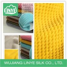 Tecido de tampa de almofada de veludo / sem tampa sem corte