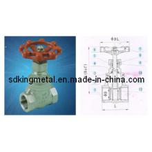 Válvula de compuerta de acero fundido G901