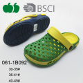 New Design Soft Plastic Fashion Ladies Clogs