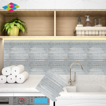 Piastrelle Backsplash autoadesive impermeabili Peel and Stick