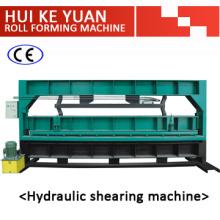 Machine de découpe de machine à cisaillement en acier hydraulique