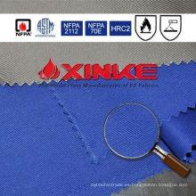 Tela a prueba de fuego del algodón 88/12 / nylon para la tela 88/12 de la prenda impermeable del algodón / nylon de la ropa para la ropa