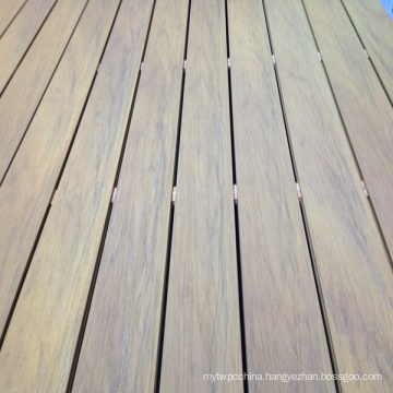 Capped WPC Outdoor Flooring for Swimming Pool