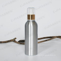 Kosmetische Aluminium Lotion Flasche mit golden / Silber Lotion Pumpe (PPC-ACB-002)