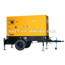 Aosif diferentes generadores de motores de marca con silencioso toldo y remolque
