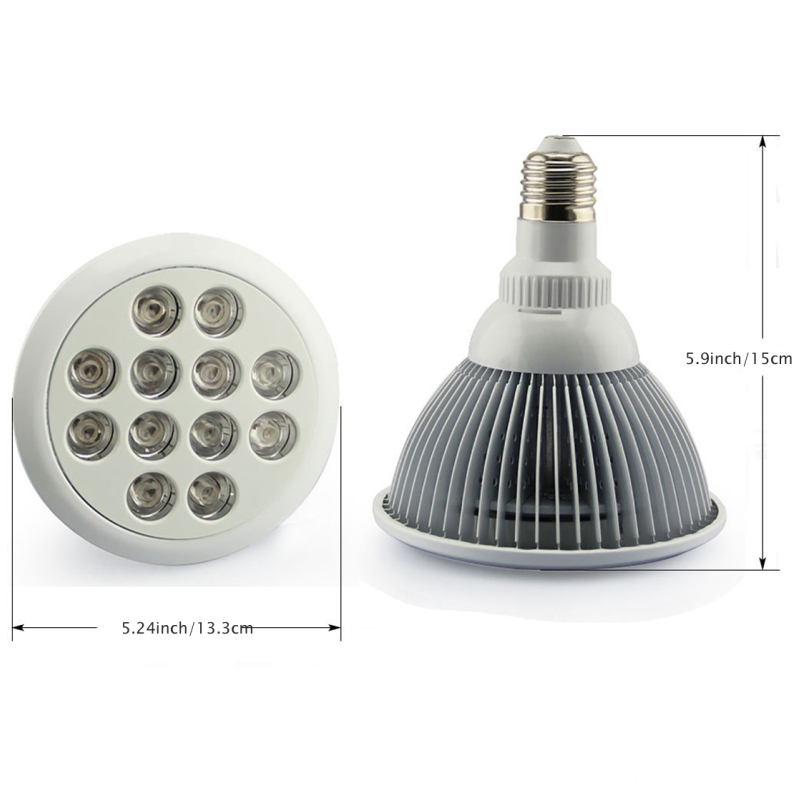 12W 24W Epistar Chip PAR38 E27 Series الصمام تنمو ضوء