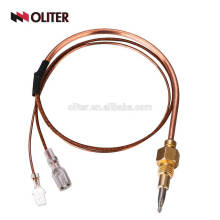 high temperature copper safe oven burner muffle furnace thermocouples