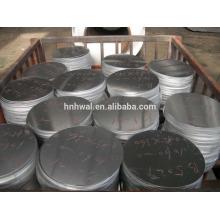 Disques antidérapants en aluminium ronds en aluminium / disque / aluminium pour les ustensiles 1050 3003