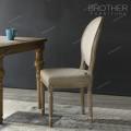 Античный мягкий чехол из ткани Венский стул сиденье