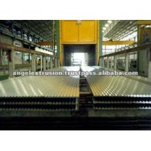 Horno de envejecimiento de perfiles de aluminio