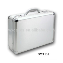 strong and portable aluminum laptop briefcase from China factory high quality