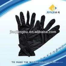 Mikrofaser-Handschuhe in schwarzer Farbe