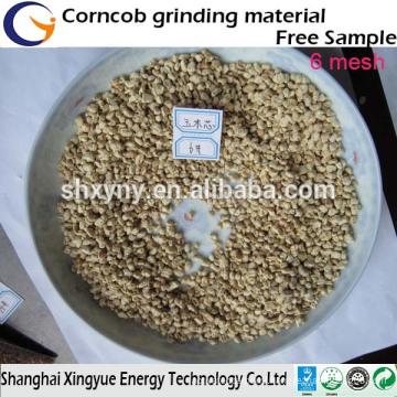 Factory supply sandblasting ,polishing,abrasive corn cob granule