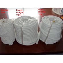 Cordage en fibre de céramique avec haute température de résistance au feu