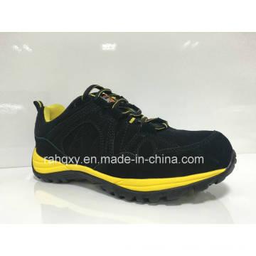 Daim noir MD + Rb cimenté des chaussures de sécurité unique (HQ0161032)
